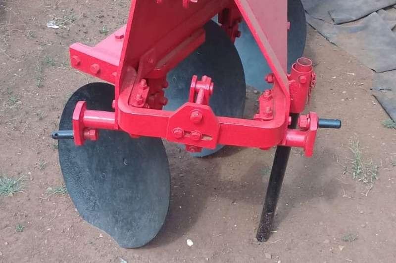 Ploughs Skottel ploeg drie skottel
