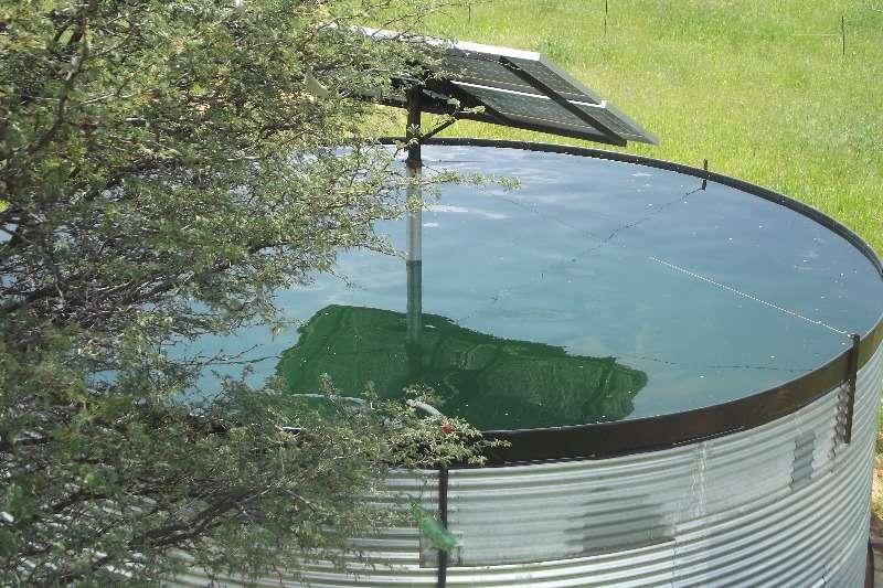 Water management MAXIFLEX PANEEL DAM MET SOLAR STELSEL Precision farming