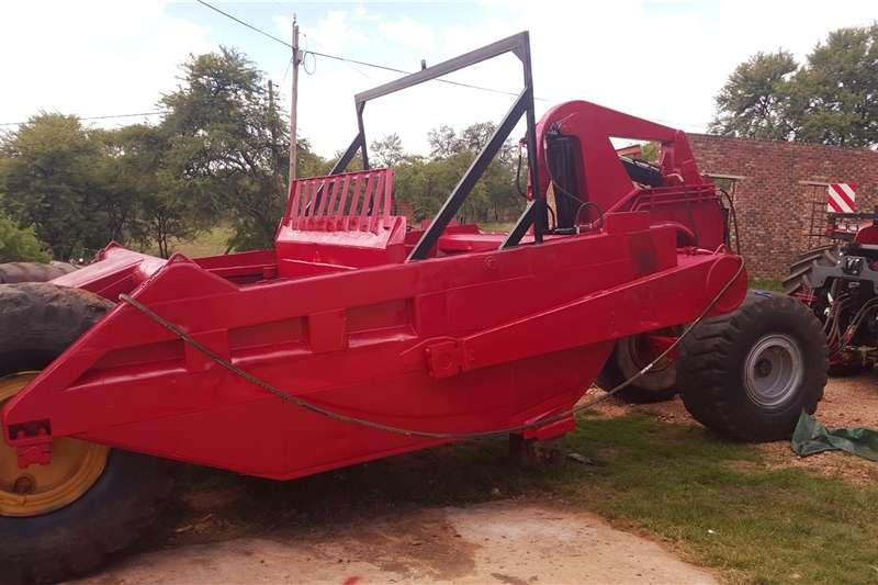 Precision Farming Yield Mapping Towed Construction Scraper R89H series