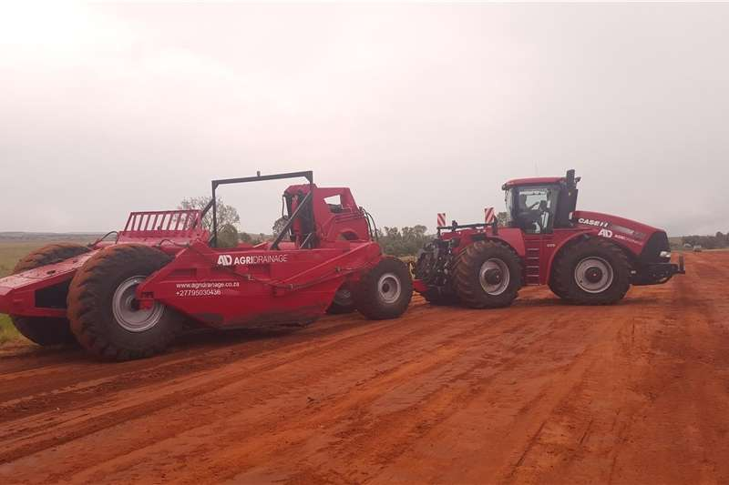 Yield mapping Towed Construction Scraper R89H series Precision farming