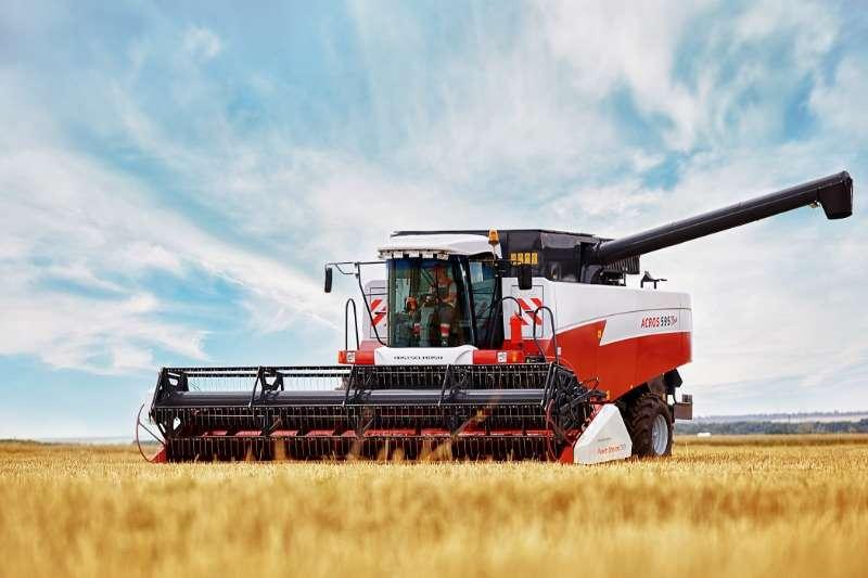 Rostselmash Grain harvesters ACROS 595 PLUS Combine harvesters and harvesting equipment