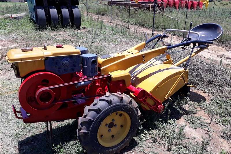In-Line rotovator Ride on diesel powered Rotovator for Sale Rotovators