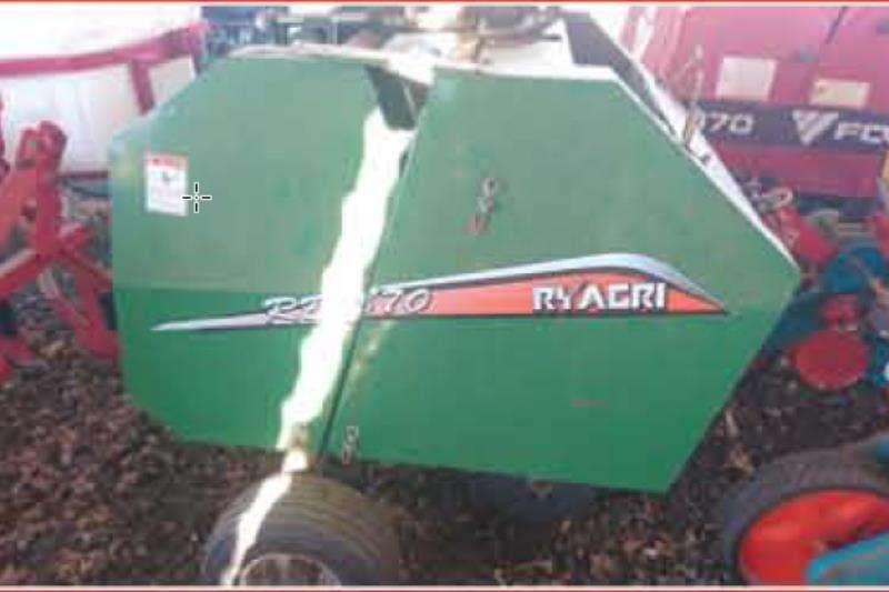 RY Agri Balers RY AgriRonde Baler Hay and forage