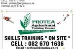 "Services Agricultural skills training courses:-""On site"" 2018"
