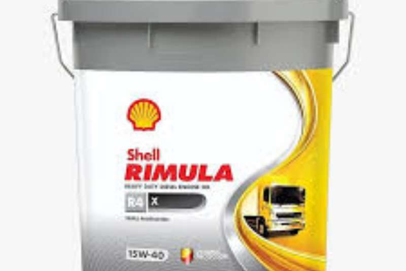 Shell OIL ENGIN - SHELL RIMULA R4   X  20L