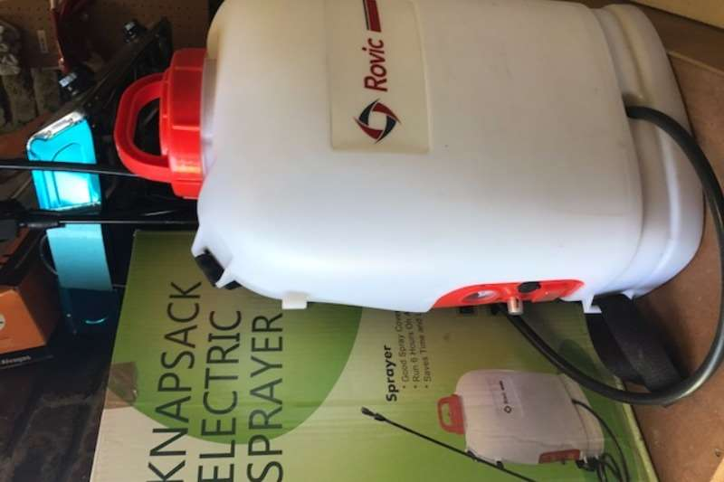 Other Knapsacks Electric, Rechargeable. Sprayers and spraying equipment