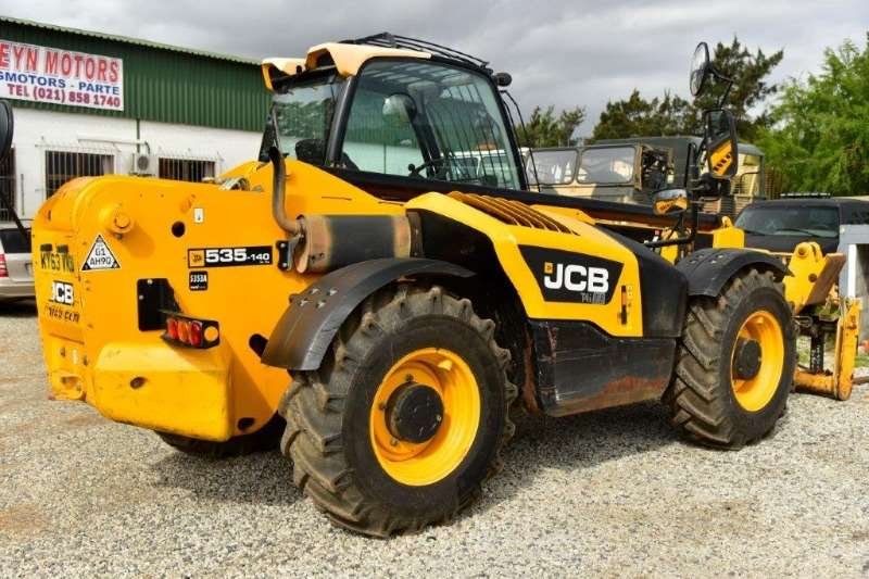 Telescopic Loader Construction JCB 535-140 T4iii with sway. 2013