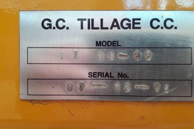 Harrows 18 disc mounted gc tillage disc Tillers