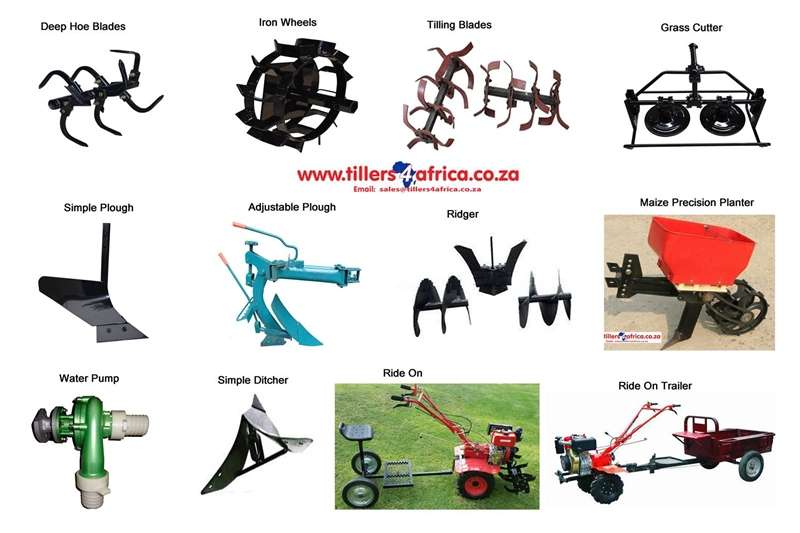 Other tillers Accessories for Tillers Tillers