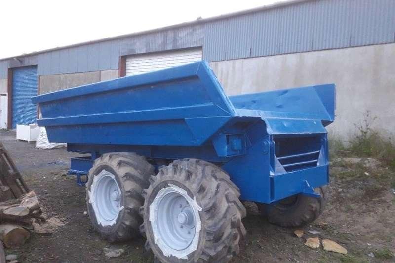 Other tillers Tractor dump trailer 10 ton Tillers