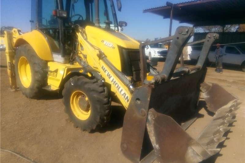 TLB's Construction New Holland B110B