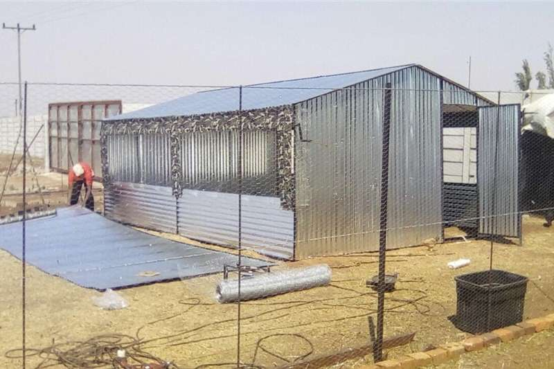 Tools and Equipment Concrete Cutter STEEL CHICKEN HOUSES BROILER & LAYERS.  3x6m R6000