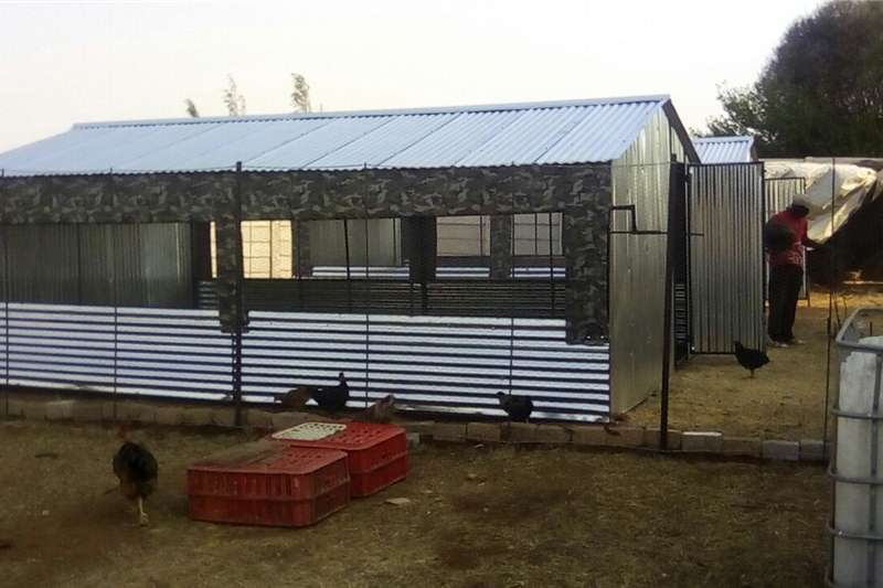 Concrete cutter STEEL CHICKEN HOUSES BROILER & LAYERS.  3x6m R6000 Tools and equipment