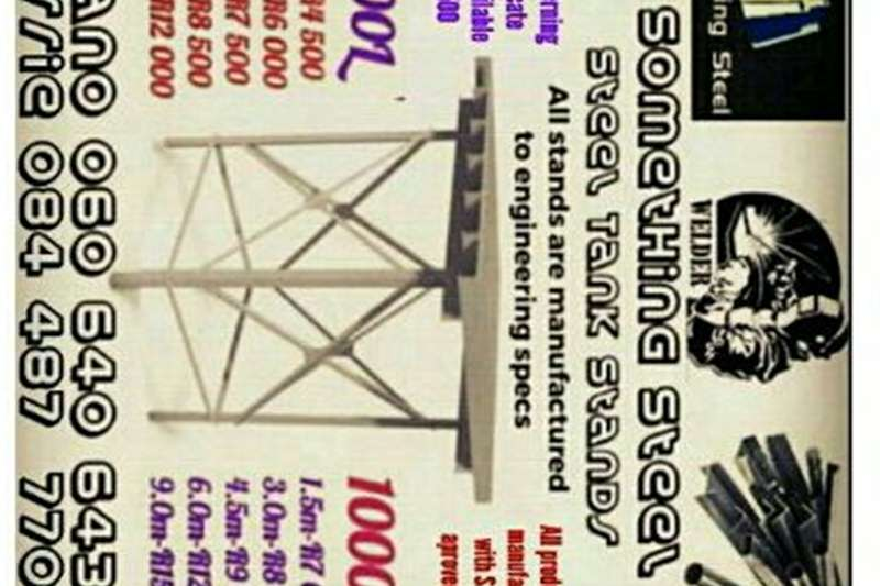 Light tower Steel water tank stands Tools and equipment