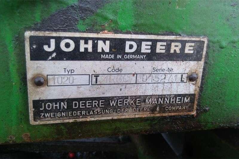 Antique tractors John Deere 1020 tractor for repair or spares Tractors