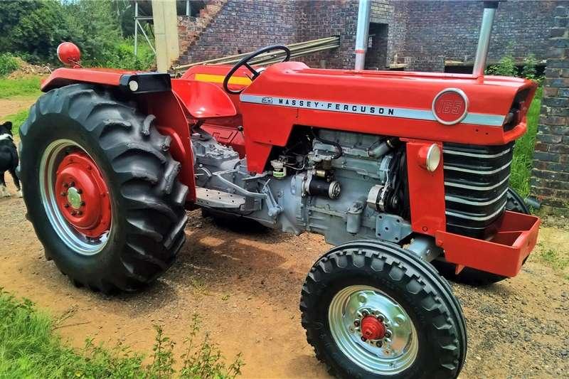 Tractors Antique Tractors Massey Ferguson 165