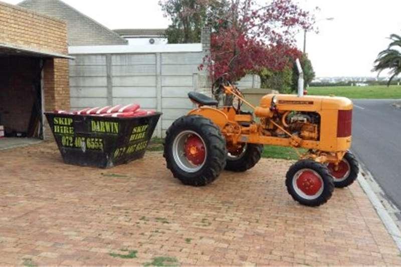 Antique tractors Minneapolis Moline Tractor with Plow Tractors