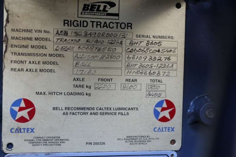 Bell Bell 1266A Tractor Tractors