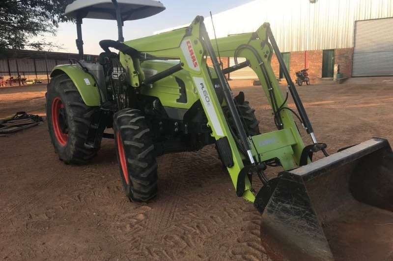 Tractors Claas Four Wheel Drive Tractors Talos 230 + Loader 2016