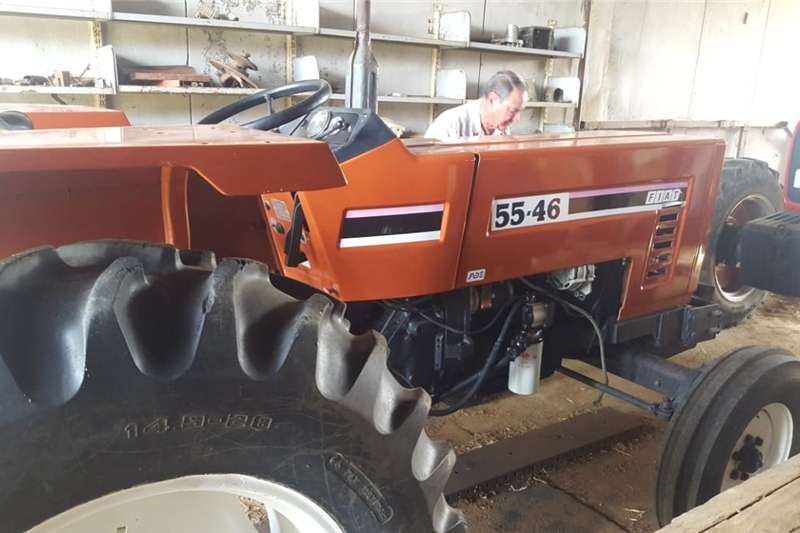 Compact tractors Fiat 55 46 Trekker 50 hp  soos nuut Tractors