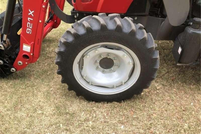 Compact tractors Massey Ferguson 4608 with slasher Tractors