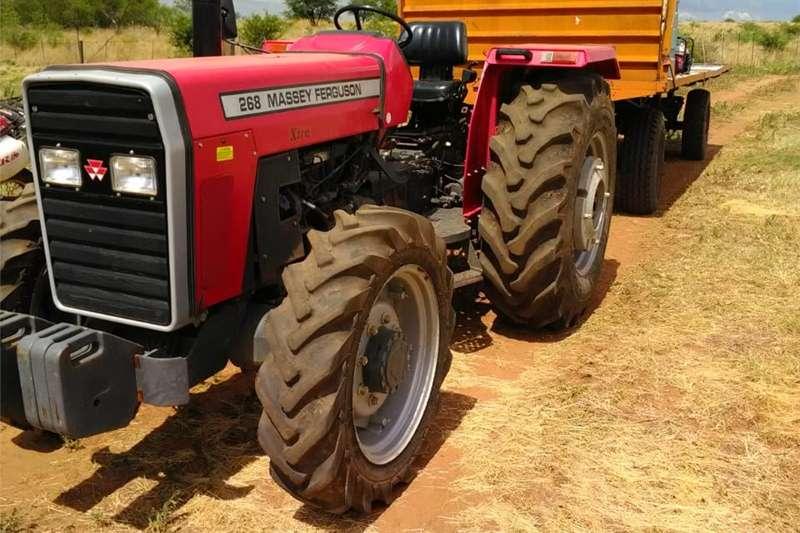 Compact tractors MF 268 Tractors