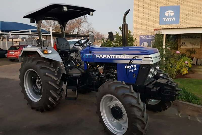 Farm Four wheel drive tractors Farmtrac FT 6075 PRO Tractors