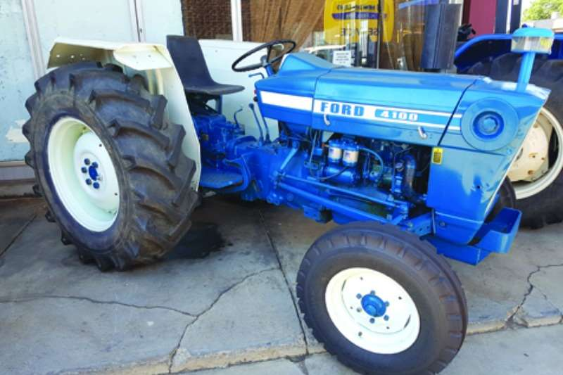 Tractors Ford 4100 0