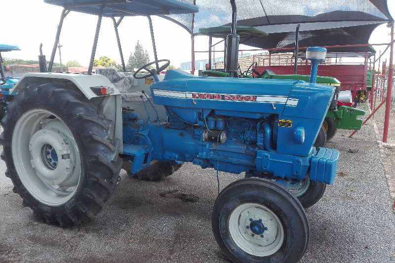Tractors Ford 5000 0