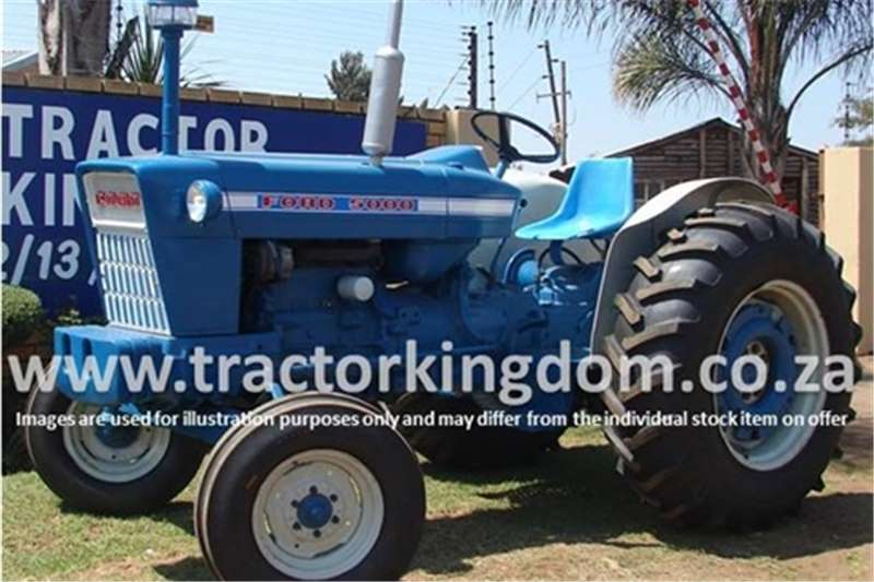 Tractors Ford 5000 Tractor 0