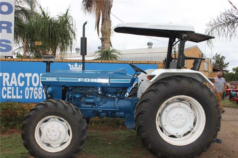 Ford 6610 4WD Special Tractors