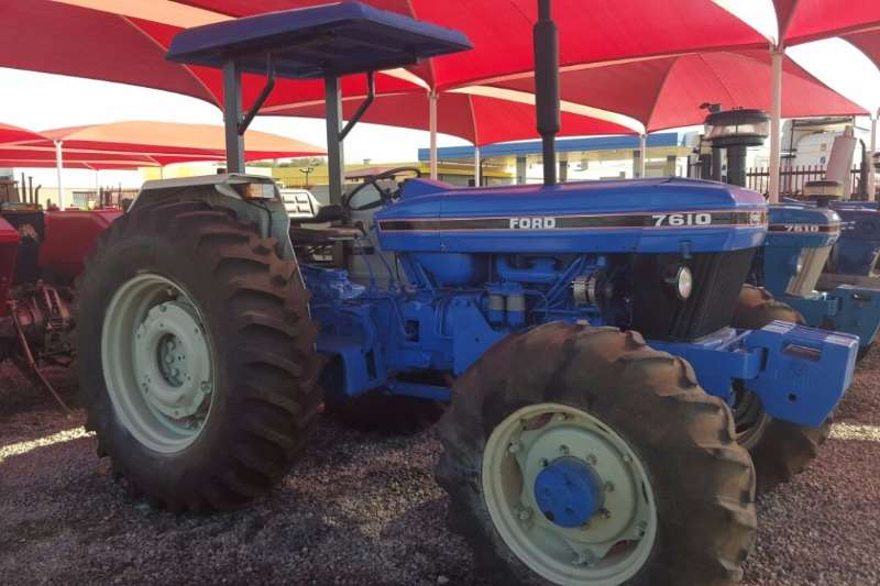 Tractors Ford 7610 4x4 0