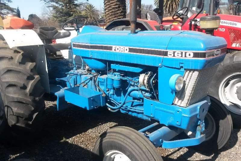 Tractors Ford Two Wheel Drive Tractors Ford 5610 0