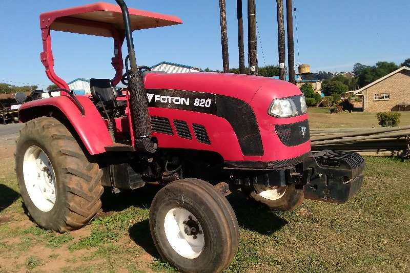 Tractors Foton Foton 820 4 x 2 Tractor with Log book 0
