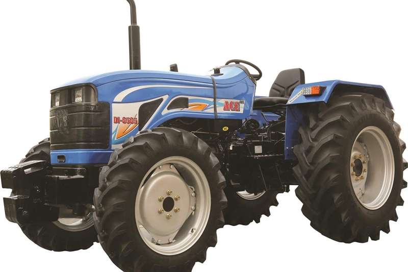 Four wheel drive tractors ACE MODEL NO. DI 6500 NG, 61.2 HP 4X4 TRACTORS Tractors