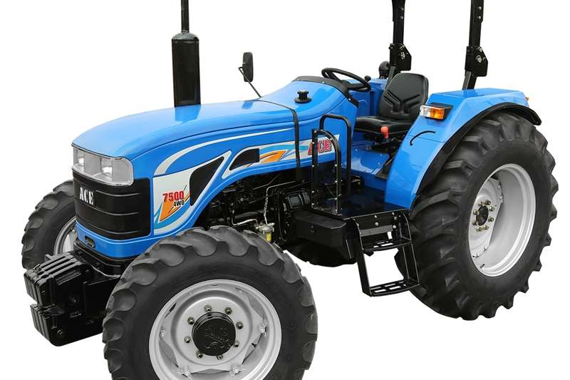 Tractors Four Wheel Drive Tractors ACE TRACTOR DI-7500-NG, 74.8 HP 4X4 TRACTOR 2018