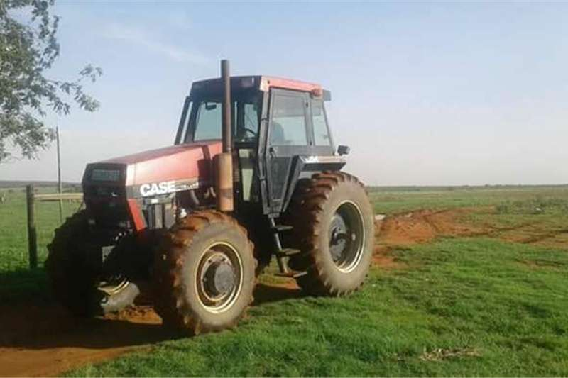 Tractors Four Wheel Drive Tractors Case 2294 Cab