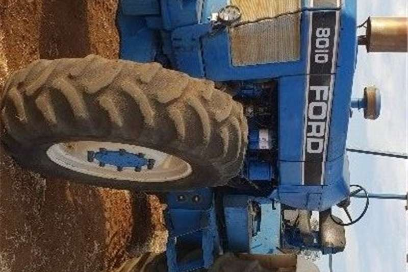 Four wheel drive tractors Ford 8010 Tractor/trekker for sale. Tractors
