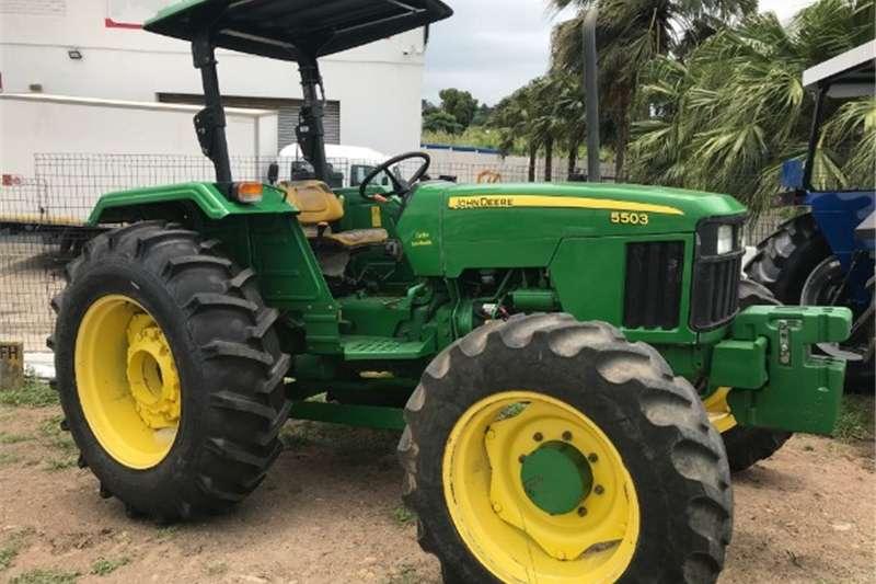 Four wheel drive tractors John Deere 5503 4x4 Tractor Tractors