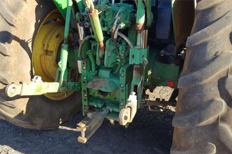 Four wheel drive tractors John Deere 6330 with Front loader Tractors