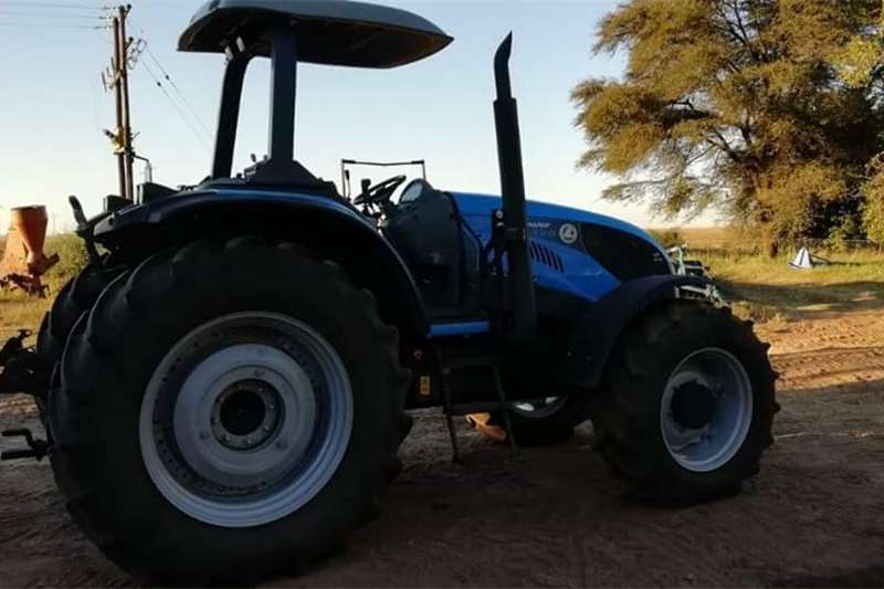 Four wheel drive tractors Landini LandPower 135 Tractors