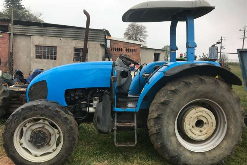 Tractors Four Wheel Drive Tractors Landini Powerfarm 90 4x4 Tractor