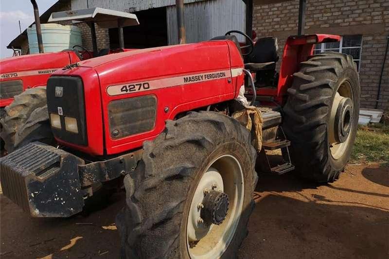 Four wheel drive tractors Massey Ferguson 4270 Tractors