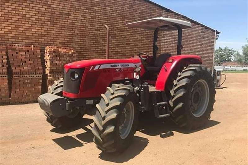 Tractors Four Wheel Drive Tractors Massey Ferguson 455 Xtra