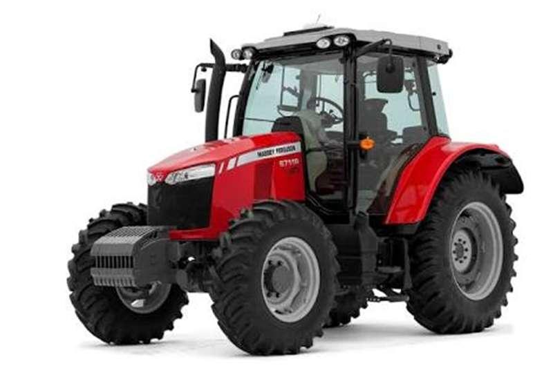 Four wheel drive tractors Massey Ferguson Tractors