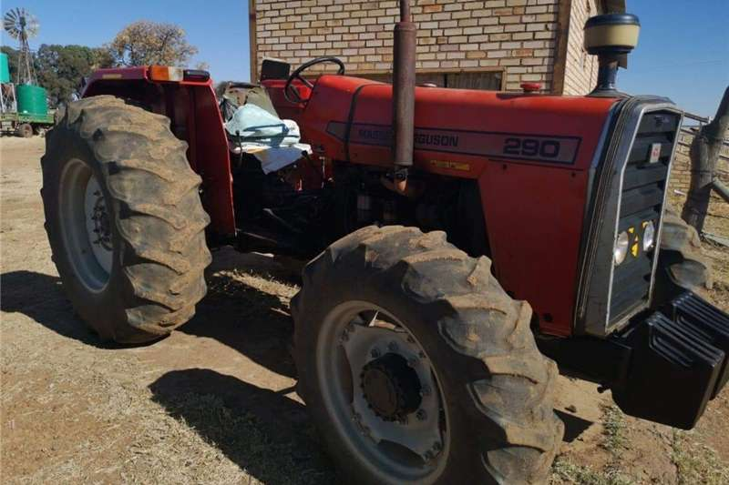 Tractors Four Wheel Drive Tractors Massey Furgeson 290 4x4