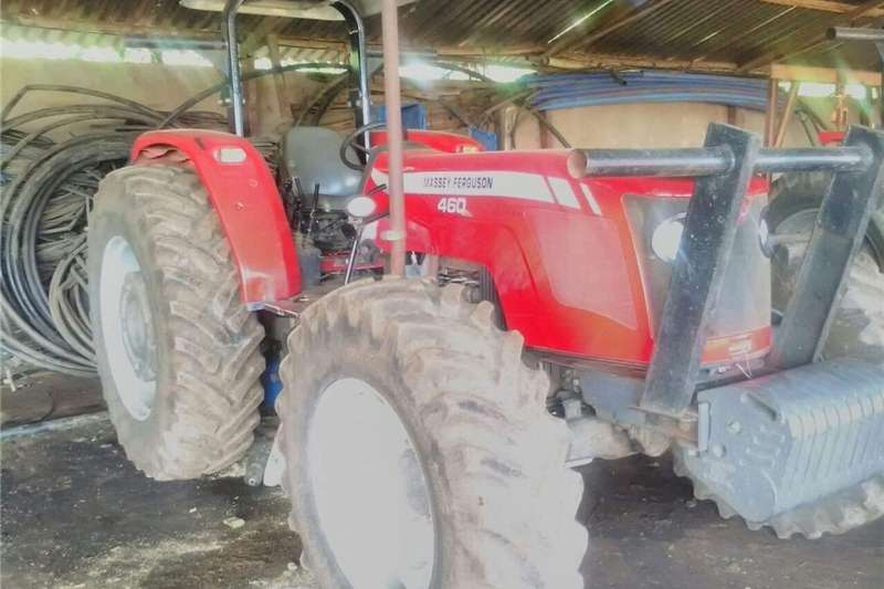 Tractors Four Wheel Drive Tractors Massey Furgeson 460 Xtra 2016