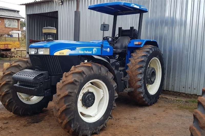 Tractors Four Wheel Drive Tractors New Holland 8030 4x4 Tractor 1957