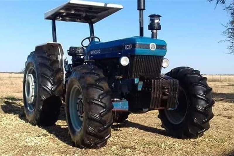 Four wheel drive tractors New Holland 8030 Tractors