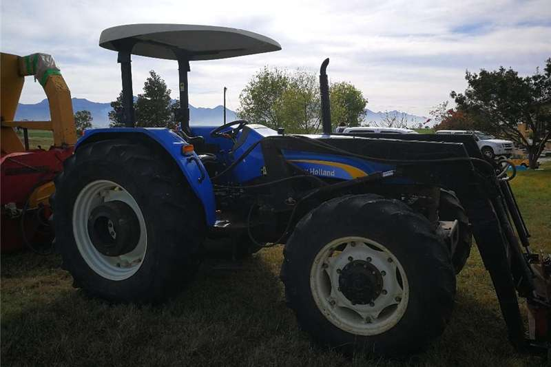 Tractors Four Wheel Drive Tractors NEW HOLLAND TRACTOR